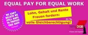 Equal Work Banner