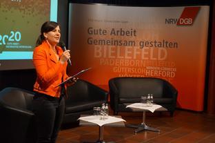 Eröffnung Digitalisierungstagung Anke Unger
