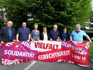 DGB und Gewerkschaften zum 1. Mai 2018 in Bielefeld