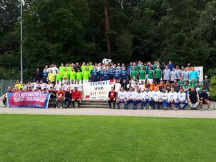 Alle Mannschaften Respekt-und-Vielfalt-Cup