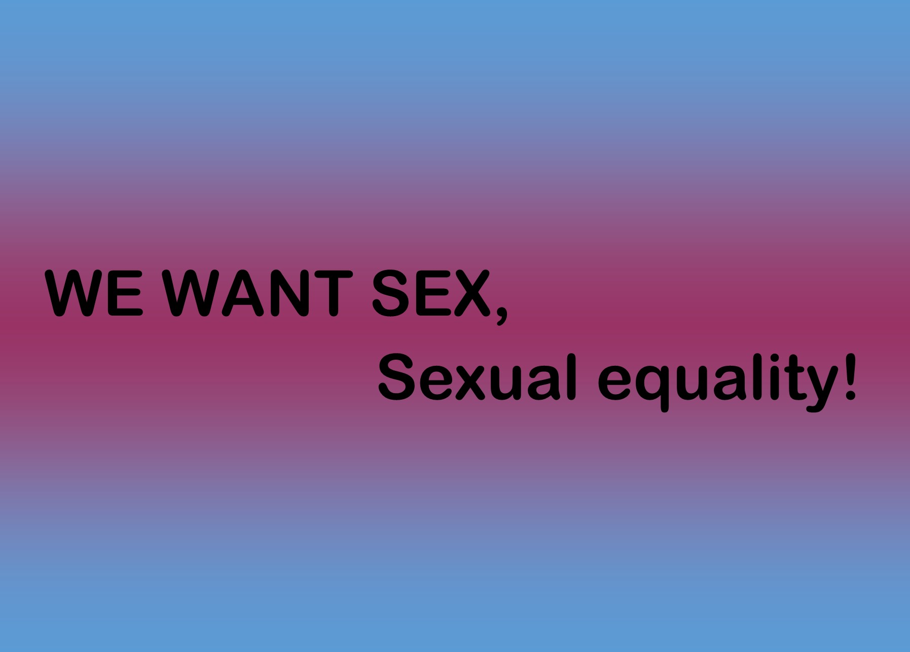 Film We want sex(ual equality)